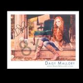 Daisy Mallory - AUTOGRAPHED - 8x10- Horizontal